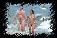 pareja amateur nudista