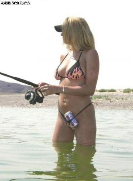 Buena pesca! y el coñito fresco