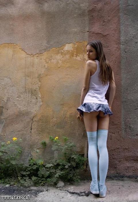 Provocar Provoca Tela Con Esa Minifalda Y Su Cuerpecito Serrano