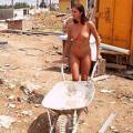 chicas obreras desnudas